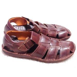 Pikolinos Men's Tarifa Fisherman Leather Sandals